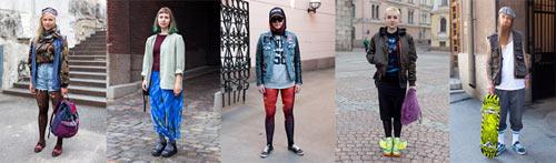 Streetstyle Helsinki: Pravilo je da nema pravila!   Ulična moda