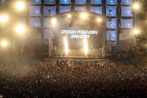 James Zabiela proslavio rođendan sa više od 20.000 fanova Lovefesta