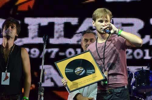 Pobednik 49. Gitarijade po glasovima publike je bend Up N' Downs iz Slovenije
