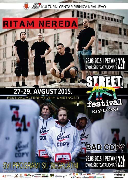 STREET ART 2015: Kompletan program i satnica festivala u Kraljevu! Photo by D.Jokic