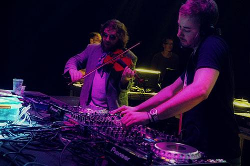 Bobby Shepherd i DJ Chrono