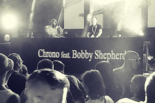 DJ Chrono i Bobby Shpeherd