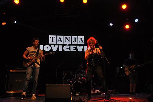 Tanja Jovićević na Beer Gardenu