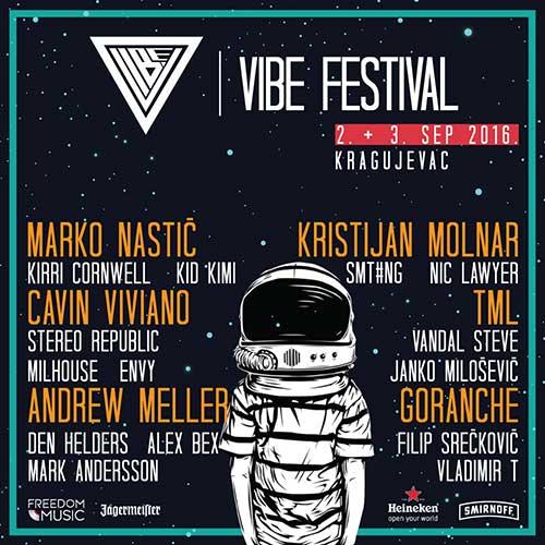 VIBE festival Lineup