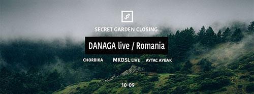 Secret Garden Closing žurka