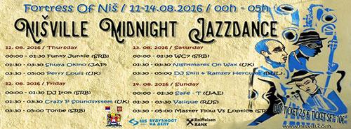 Nišville Midnight Jazzdance