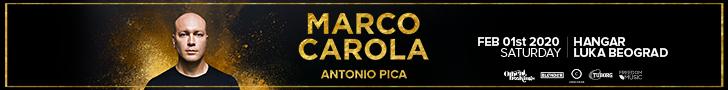 Marco Carola Belgrade 2020