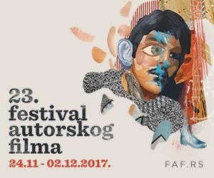 FAF - Festival autorskog filma 2017