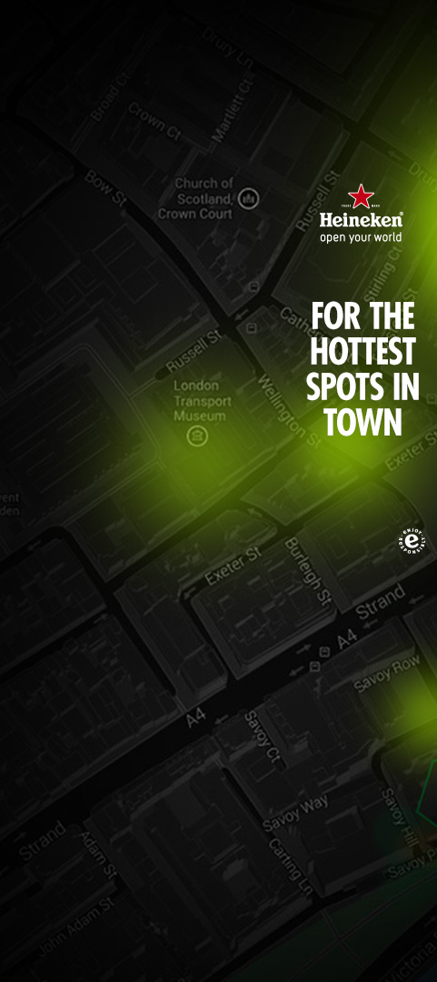 Heineken - FOR THE HOTTEST SPOTS IN TOWN