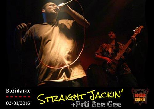 Vračar Rocks: Straight Jackin & Prti Bee Gee 2. januara u Božidarcu! | Beograd 2016