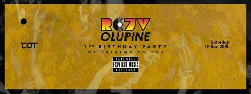 Explicit Music: Rejv Olupine slave 2. rođendan! | Klub DOT | Beograd 2015