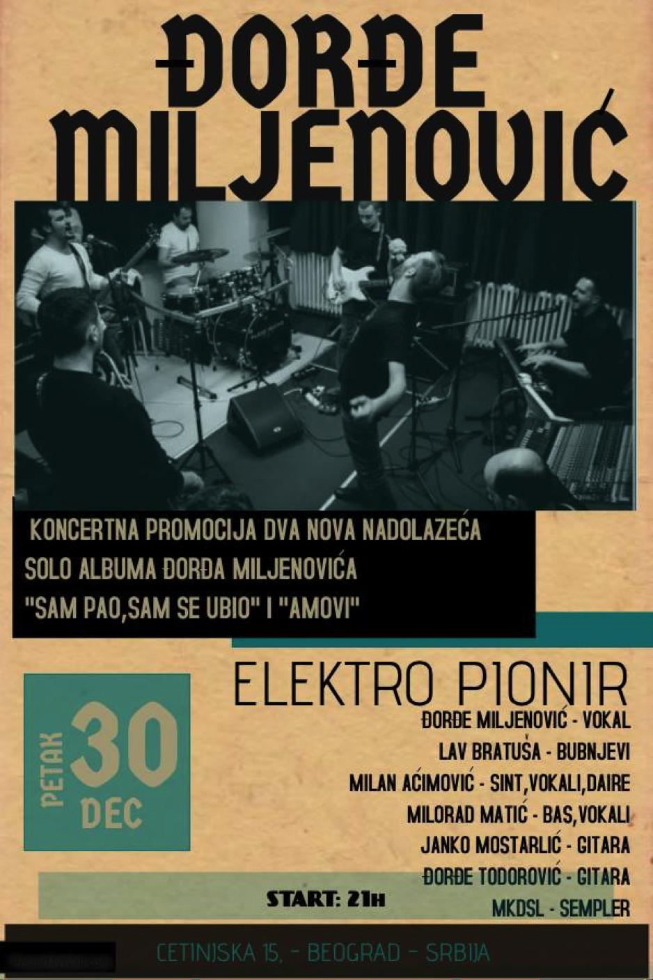 Đorđe Miljenović koncert