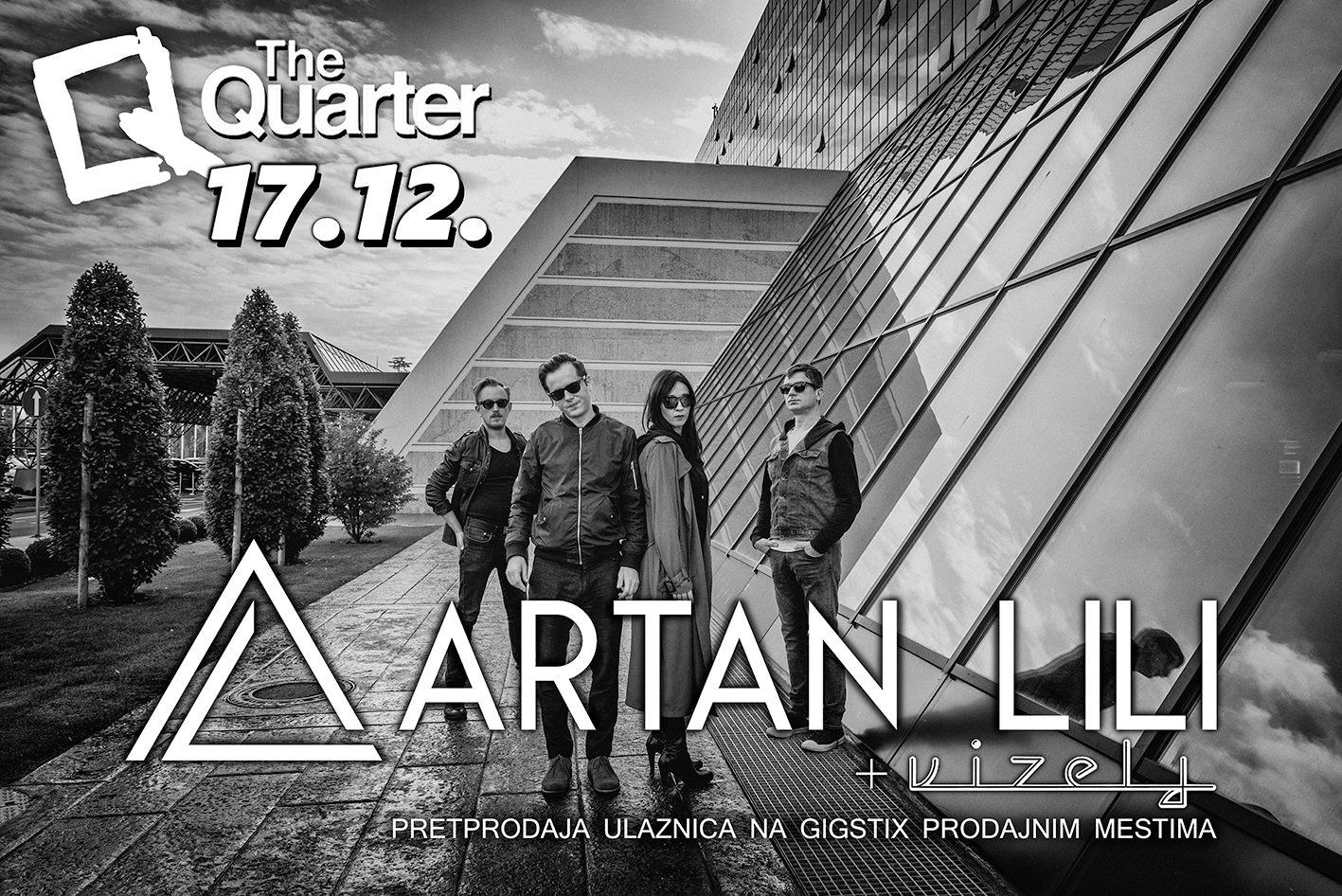 Artan Lili i Vizelj u klubu The Quarter