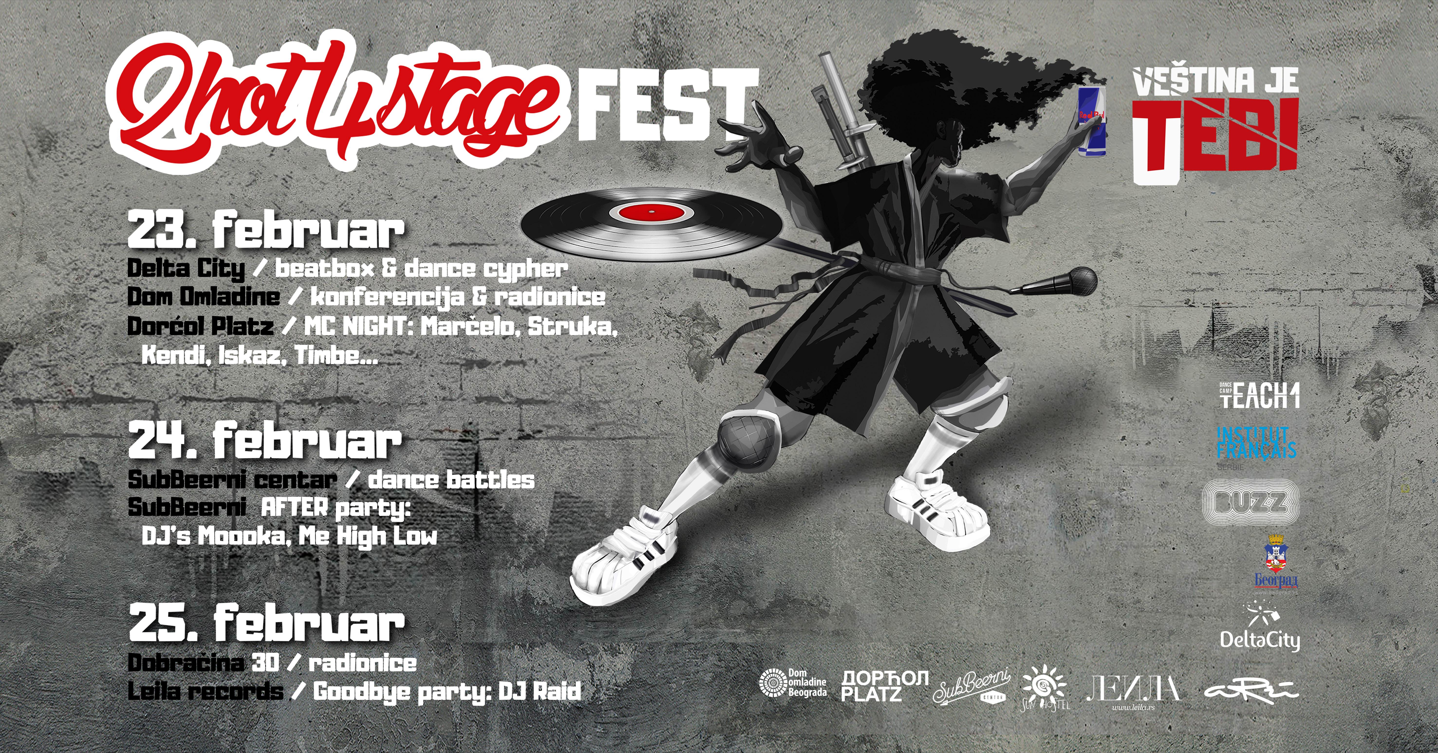 2Hot4Stage Fest 2018: Veština je u tebi