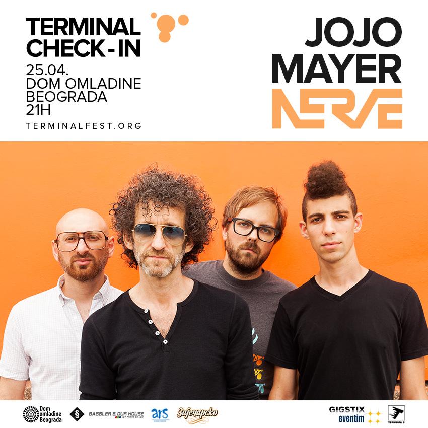 Jojo Mayer, Beograd, Dom omladine Beograd
