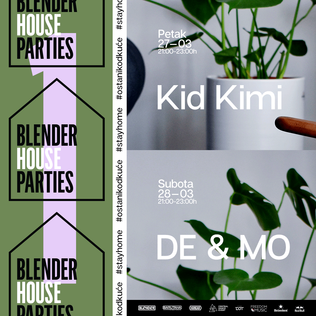 Blender House Parties