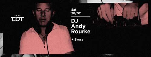 DJ i producent Andy Rourke donosi dašak Ibice u klub DOT! | Beograd | 2015