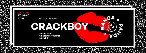 BANDA PANDA: Crackboy supported by Kristijan Molnar!   KC Grad   Beograd   2015