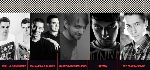 French Kiss- Extatic Techno: Najveća tehno žurka za Dan zaljubljenih! | Depo Magacin | Beograd | 2015