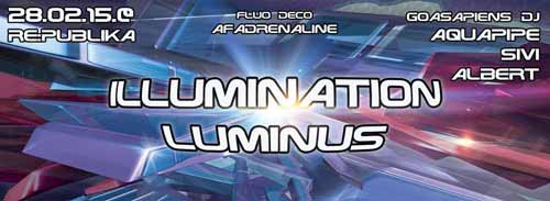 Amir Dvir: Illumination, Born sleepy, Humanoids & Luminus | Psy Trance | Goasapiens | Republika Bar-Club | Beograd | 2015