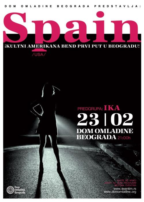 Na koncertu će ih pratiti i naše zvezde Amerikana zvuka - grupa Ika - predvođena jednim od najlepših glasova naše muzičke scene, Ivanom Smolović.