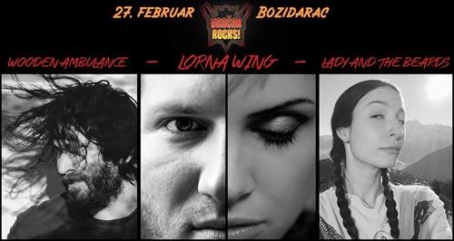 VRACHAR SWAYS: 20 muzičara i muzičarki na bini Božidarca! | Vračar Rocks | Beograd | 2015