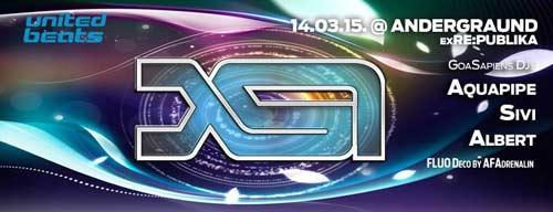 Francuski Psy-Trance projekat X.S.I predstavlja svoj album DANCEFLOOR APOCALYPSE! | Goasapiens | Beograd | 2015
