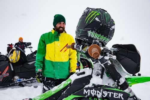 Brett Turcotte: Prvi backflip na Yeti SnowMX! | Monster Energy Srbija