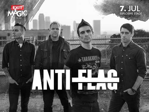 Anti-Flag prvi put dolaze u našu zemlju!