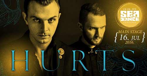 HURTS potvrdili nastup na Sea Dance festivalu!   EXIT Avantura 2016