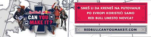 Red Bull Can You Make It: Epsko putovanje bez svog telefona, novca ili kompjutera! | Srbija | Serbia
