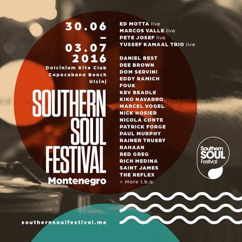 Southern Soul Festival 2016 predstavlja prve izvođače! | Montenegro 2016