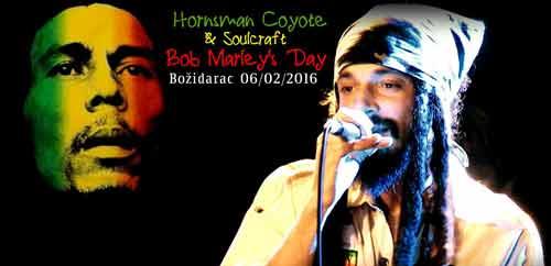 Bob Marleys Day: Hornsman Coyote & Soulcraft u Božidarcu! | Vračar Rocks