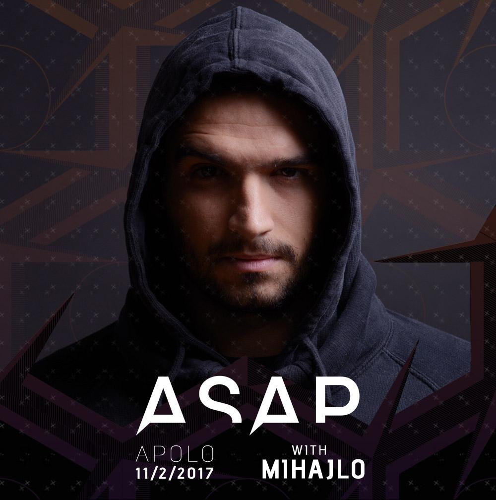 Mihajlo - ASAP žurka - Apolo dvorana u Pančevu