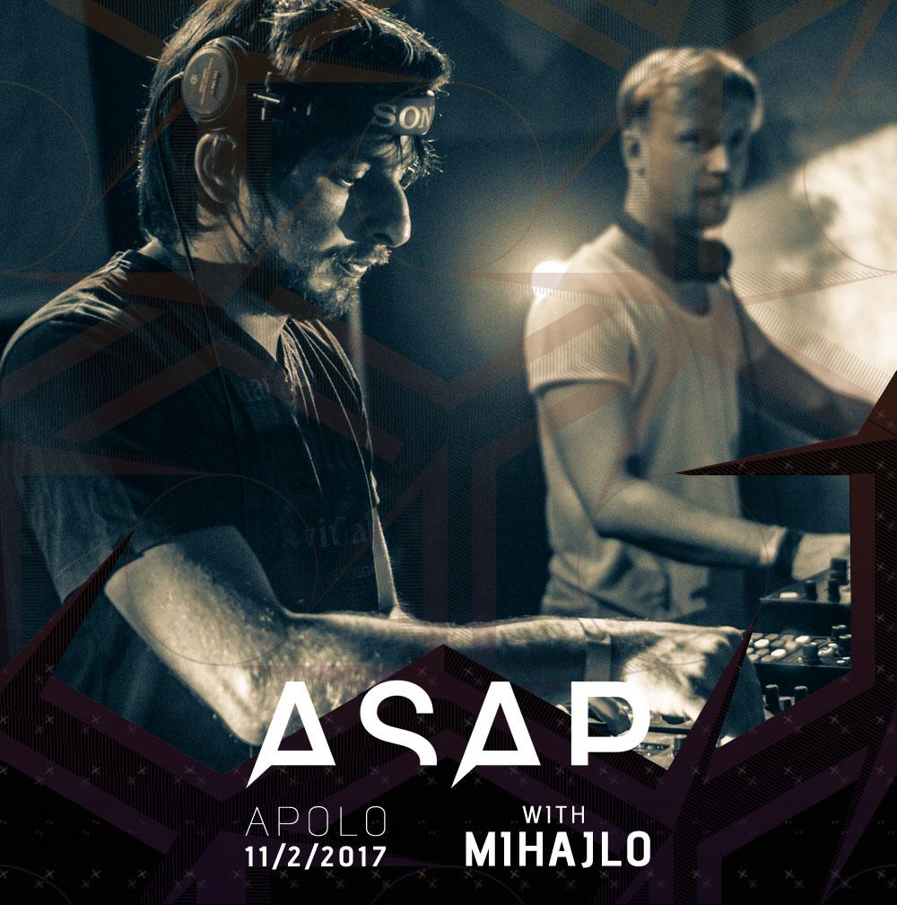 Noisedock - ASAP žurka - Apolo dvorana u Pančevu