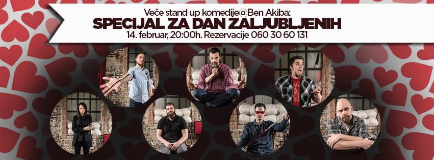 Stand up Dan zaljubljenih - Ben Akiba