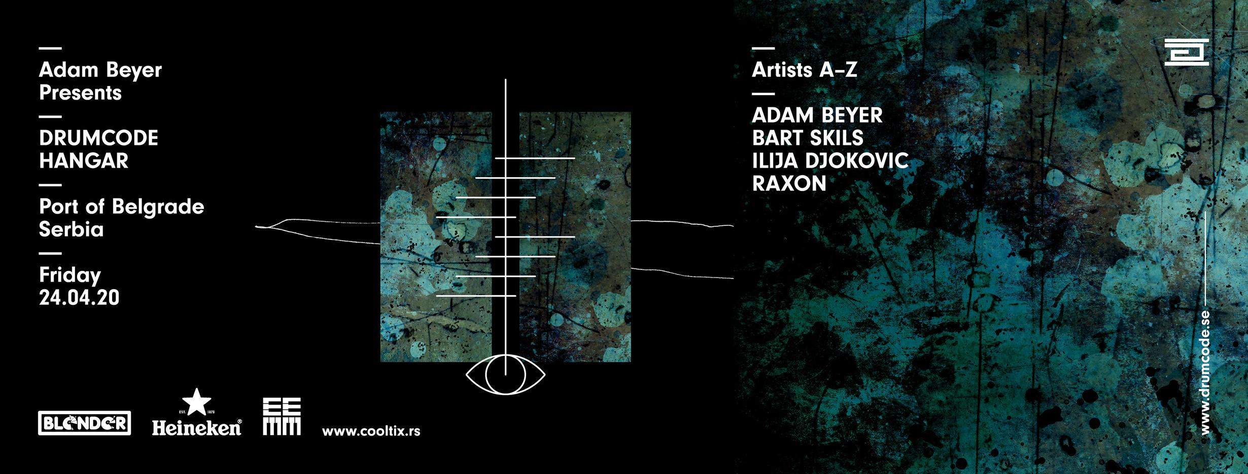 Adam Bayer, Drumcode, Hangar, Beograd