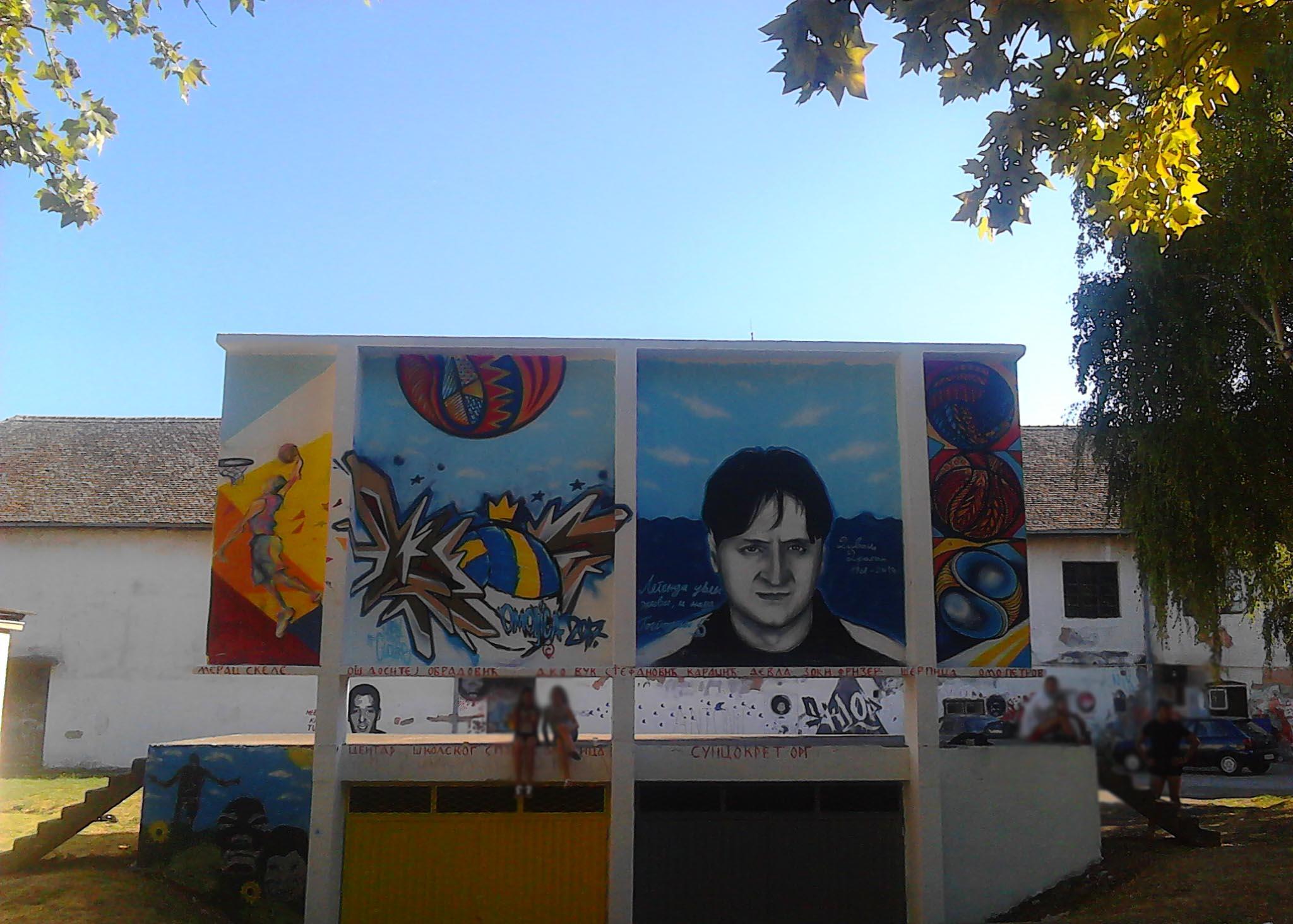 OUP grafiti fest Omoljica 2017