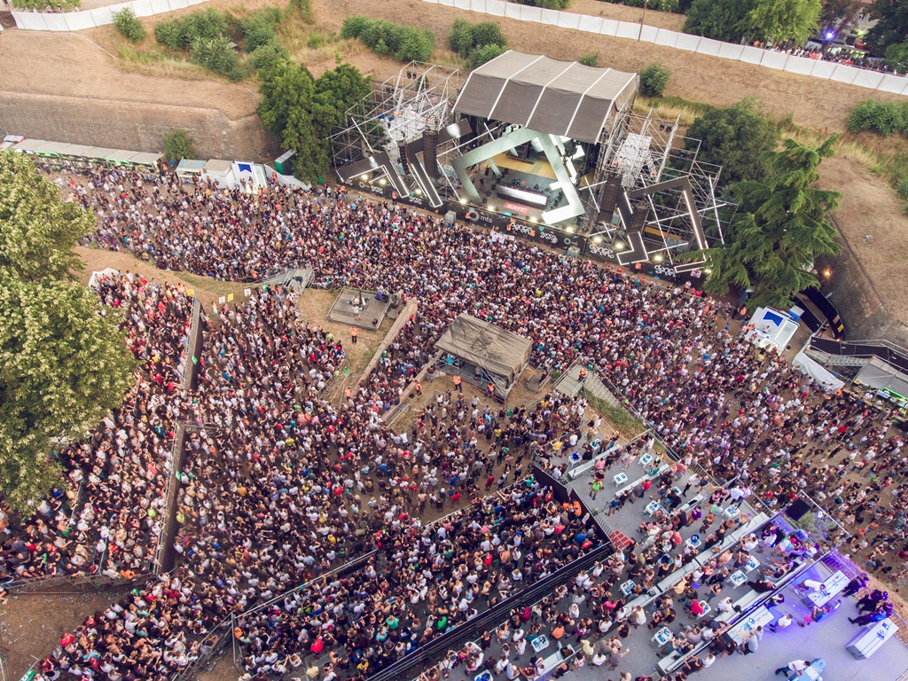 Dance Arena - Exit festival 2017 - Petrovaradinska tvrđava