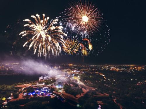 Vatromet - Exit festival 2017 - Petrovaradinska tvrđava