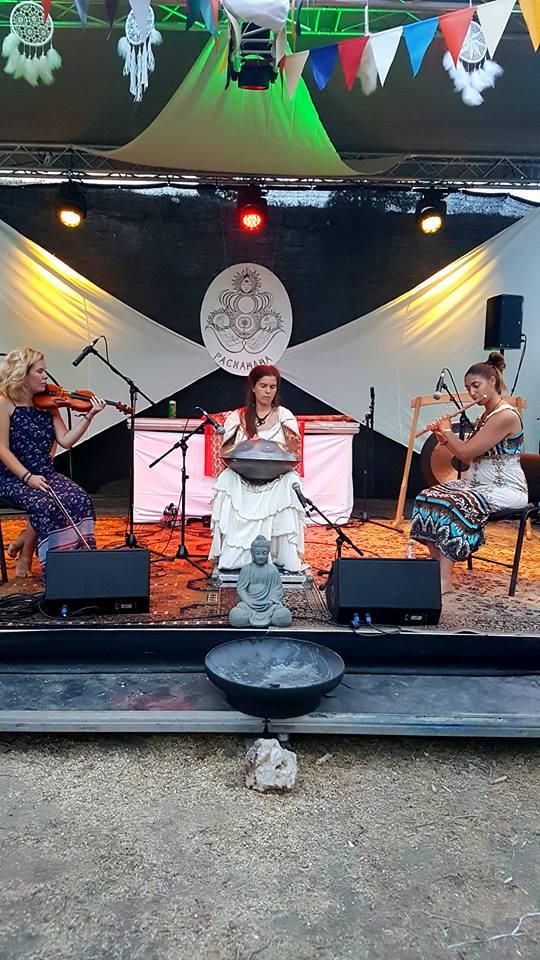 Pachamama stage / Foto: Ksenija Lea Ronai