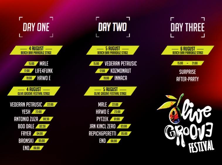 Olive Groove Festival - Hrvatska 2017