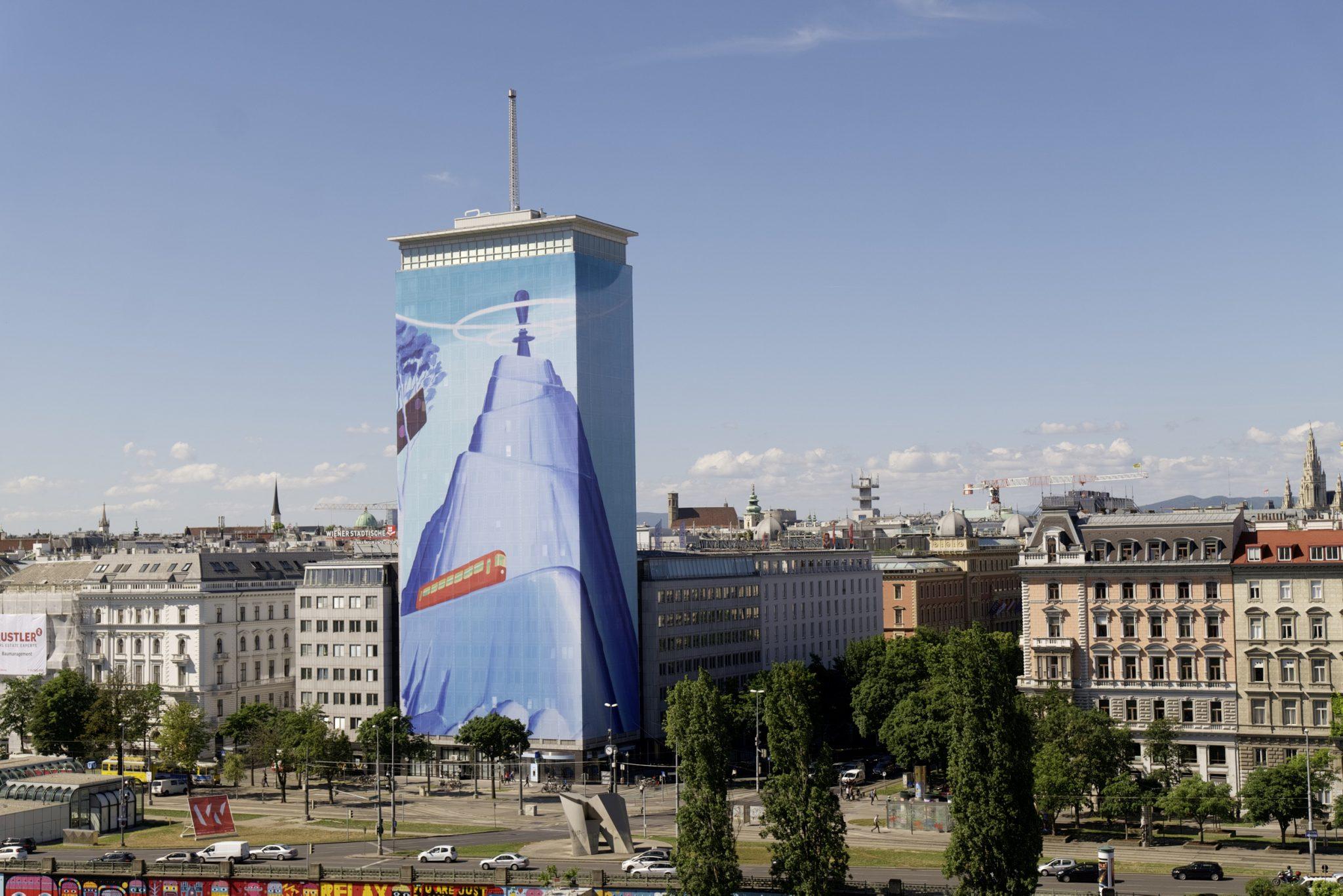 Vizija Mihaela Milunovića na zgradi u Beču