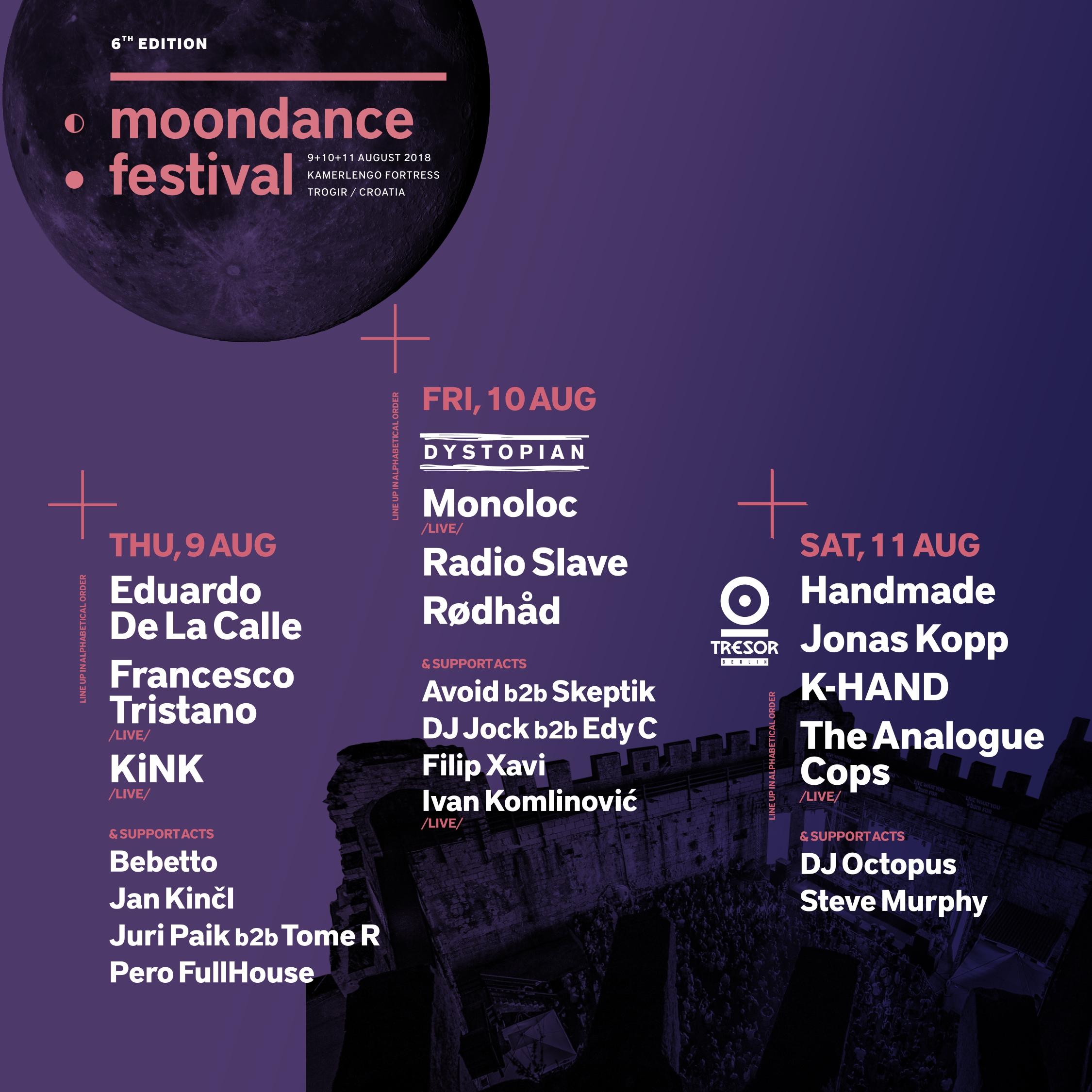Moondance Festival 2018