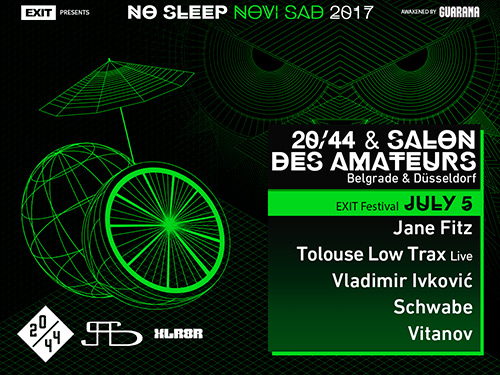 No Sleep Novi Sad - Exit 2017 - Nulti dan - 5. jul