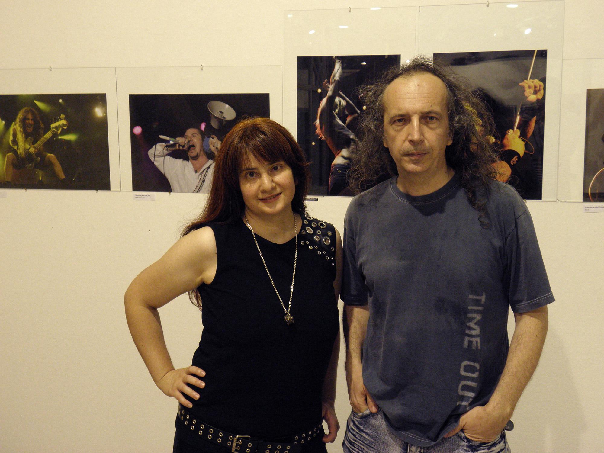 Anamarija Vartabedijan i Stanislav Milojković