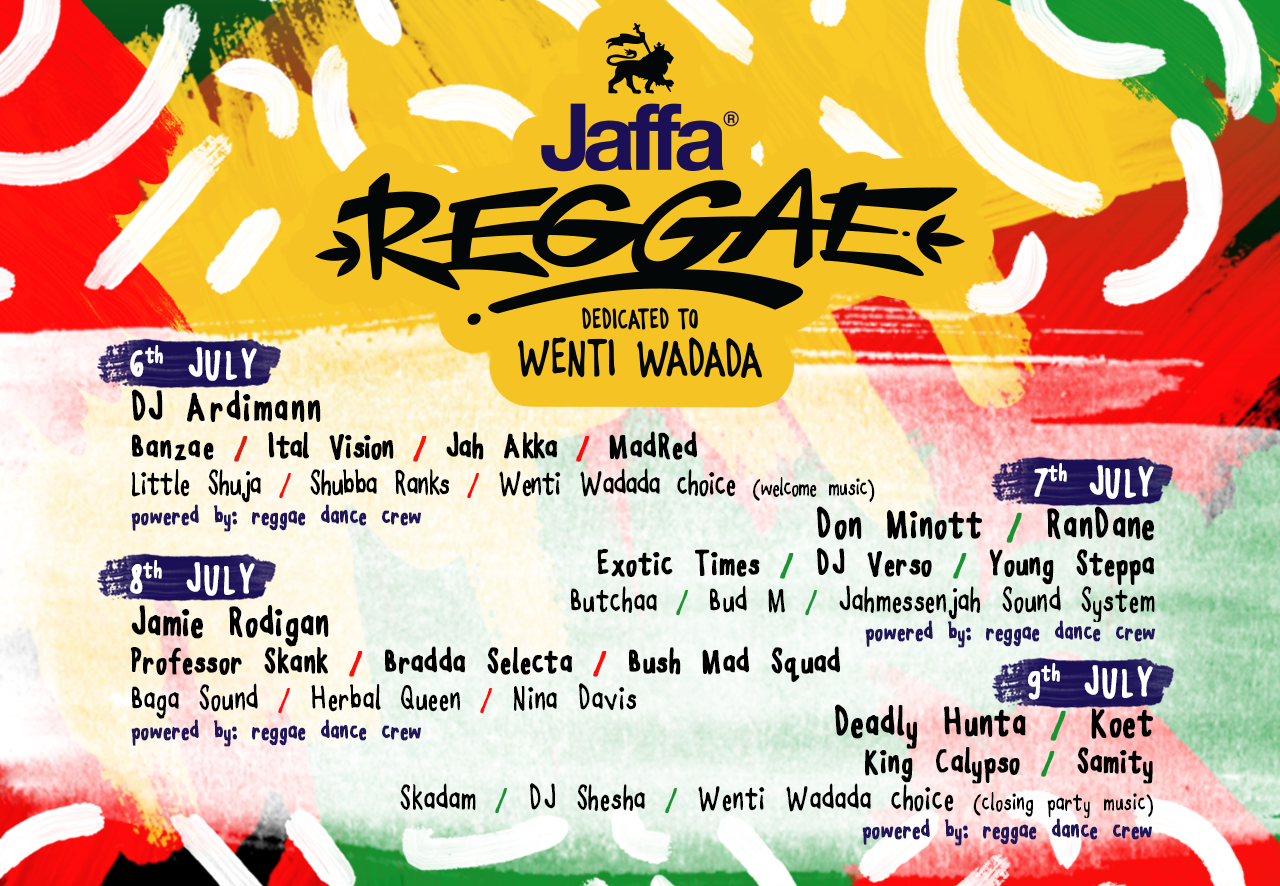 Jaffa Reggae Stage dedicated to Wenti Wadada - Exit 2017