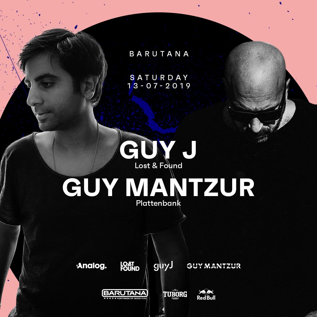 Guy J, Guy Mentzur, Barutana