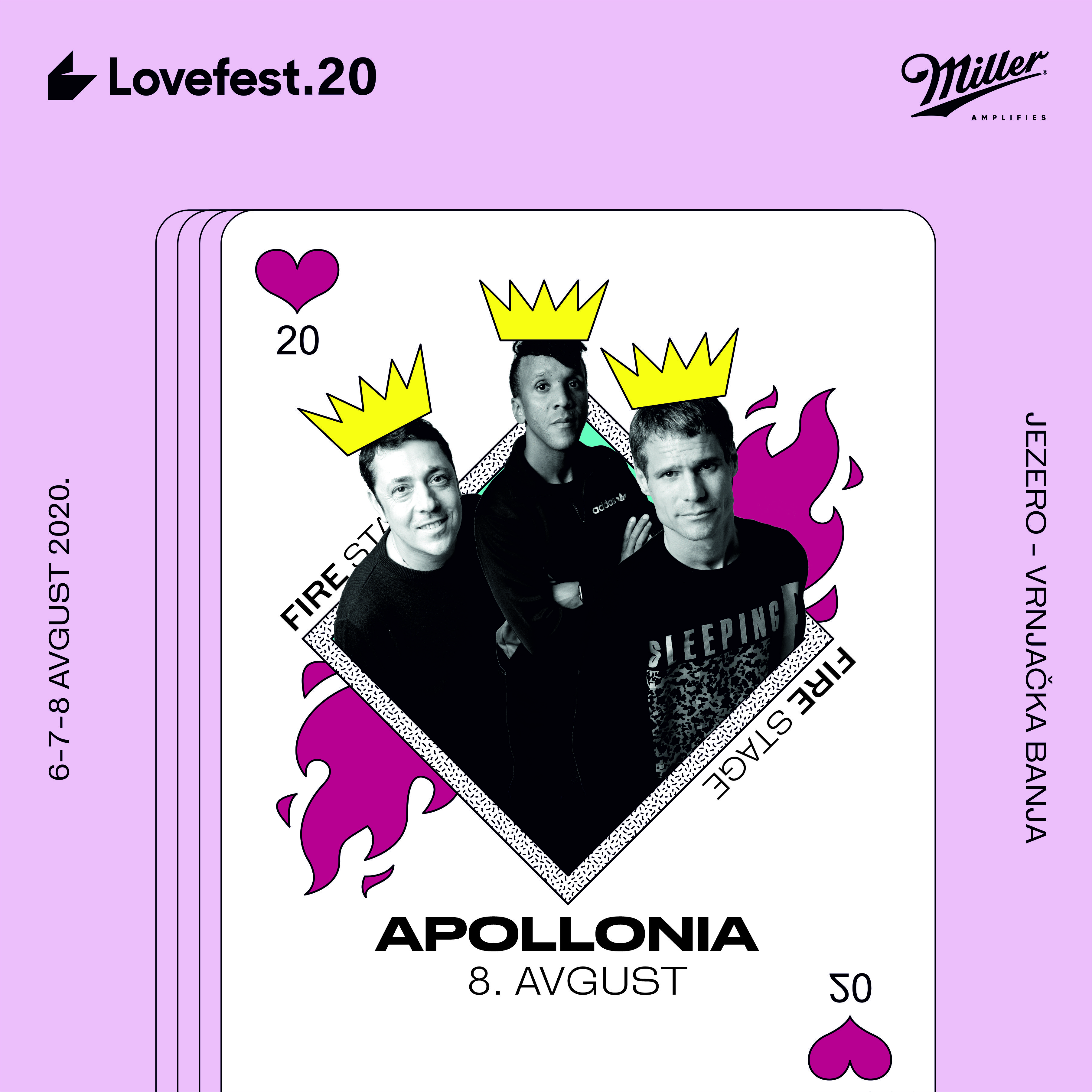 Apolonia, LOVEFEST 2020