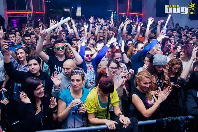 Noćni klub u Beogradu